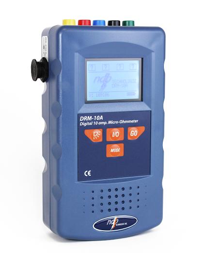 Máy đo điện trở cầm tay dòng 10A DRM-10A