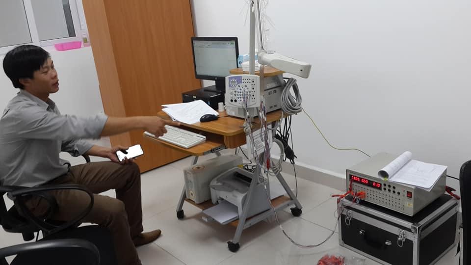 Thiết bị kiểm định máy đo điện não