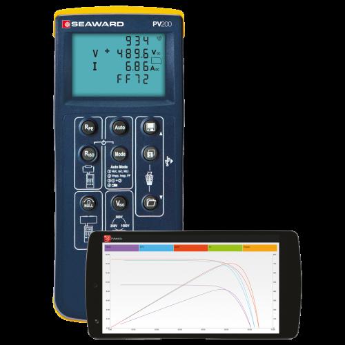 Hợp bộ kiểm tra pin năng lượng mặt trời - PV200 Seaward