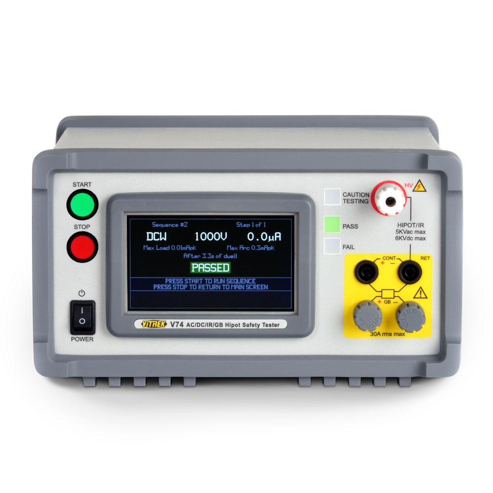 Thiết bị thử nghiệm an toàn điện 5kV AC V7x