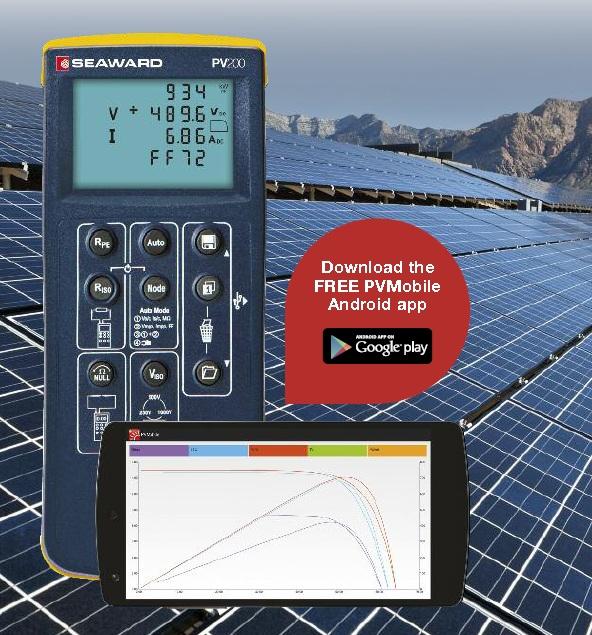 Thiết bị kiểm tra pin năng lượng mặt trời PV200
