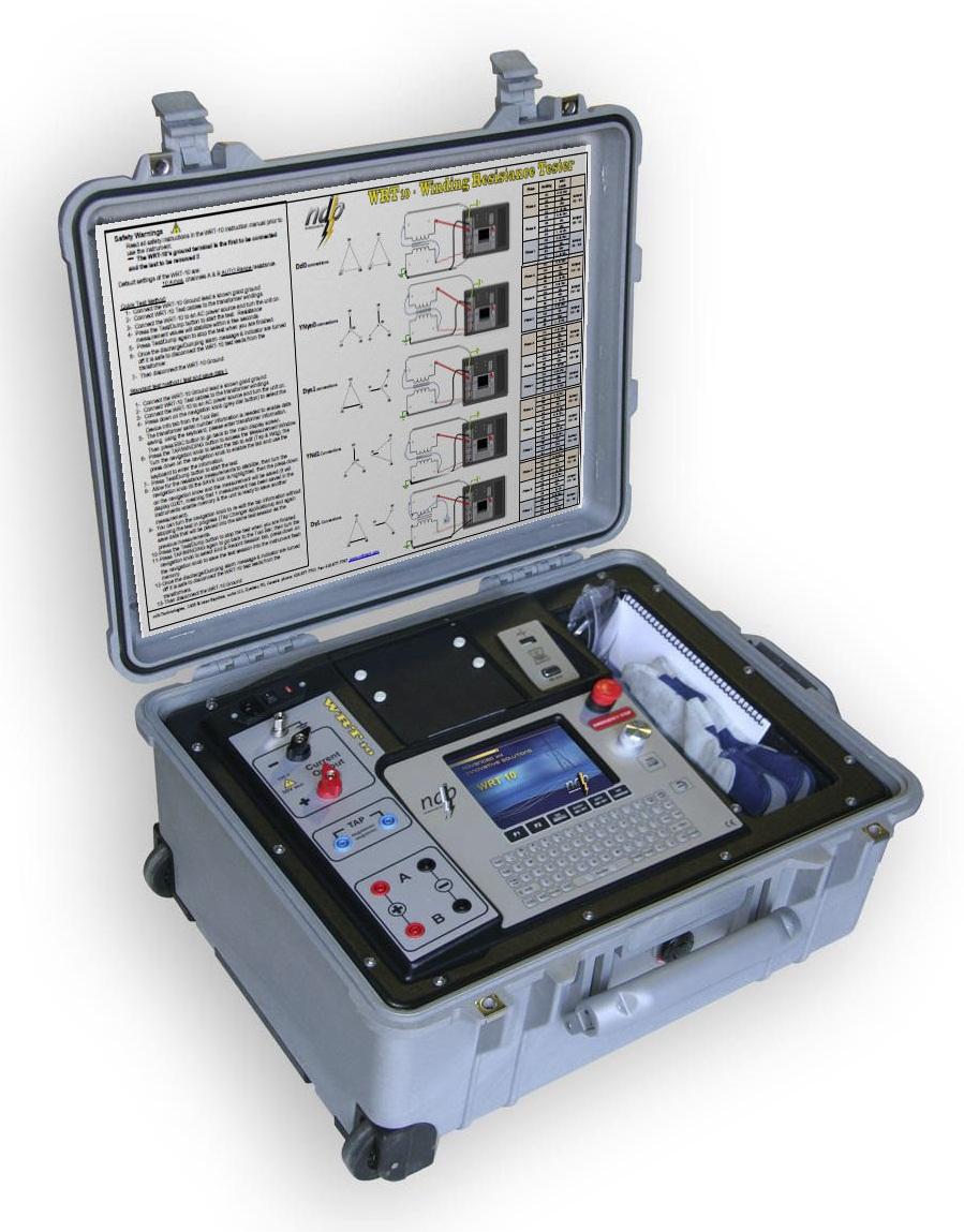 Máy đo điện trở cuộn dây Máy biến áp chuyên dụng WRT-10
